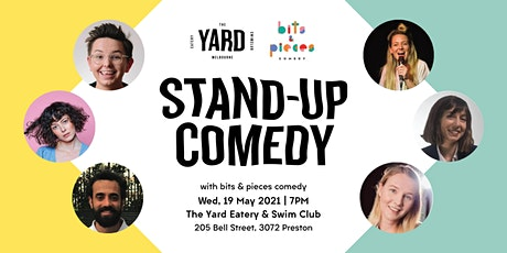 Stand-Up Comedy by bits & pieces @ The Yard Eatery & Swim Club tickets