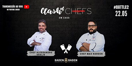 Clash of Chefs #BATTLE2 bilhetes