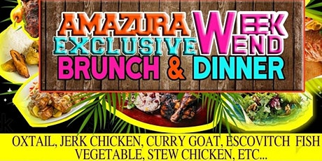 Amazura Exclusive Weekend Brunch and Dinner tickets