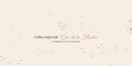 Culto Domingo 16/05 - 09:00 Hs entradas