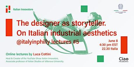 The designer as storyteller. On Italian industrial aesthetics tickets