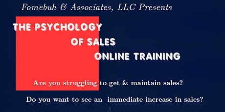 The Psychology of Sales tickets