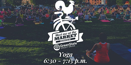 Meet Me at the Market 2021: Yoga tickets