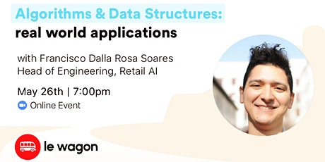 Algorithms & Data Structures: Real World Applications - Online Talk tickets