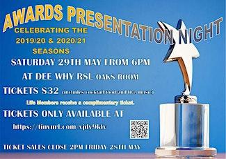 AWARDS PRESENTATION NIGHT tickets