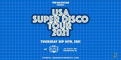 The Magician at Sax (21+) tickets