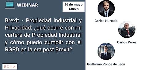 Brexit -  Propiedad industrial y Privacidad boletos