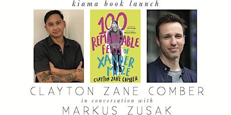 Clayton Zane Comber Kiama Book Launch tickets