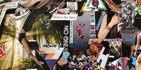 Intuitive Vision Collage Workshop - Online Edition tickets