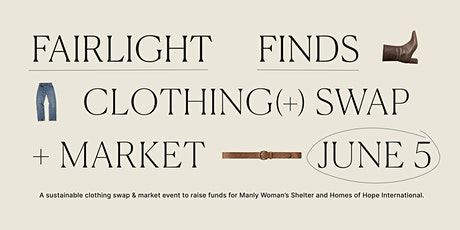 Fairlight Finds Clothes Swap & Market tickets
