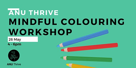 Mindful Colouring Workshop tickets