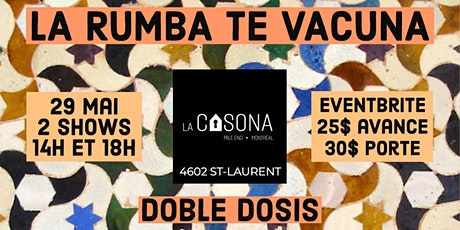 La Rumba Te Vacuna tickets