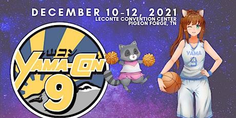Yama-Con Anime & Comic Convention 9 tickets