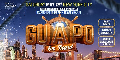 GUAPO - On board - New York City tickets