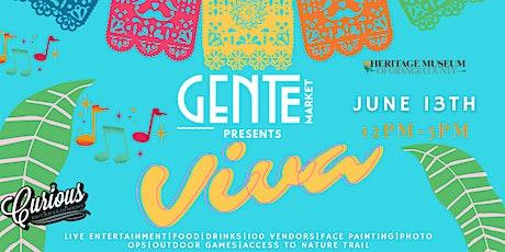 """Gente Market """"Viva"""" tickets"""