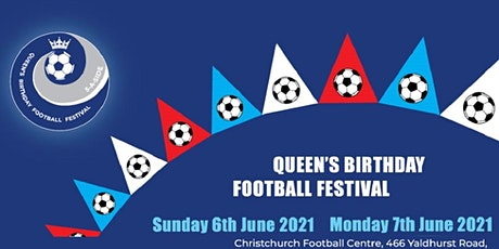 Queens Birthday Football Festival: Inflatable Football FREE for under 8s tickets