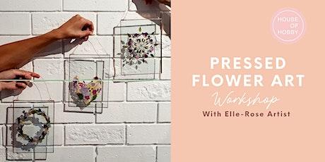Pressed Flower Art - Creative Workshop tickets