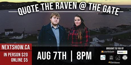 Quote The Raven At The Gate tickets