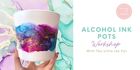 Alcohol Ink Pots tickets