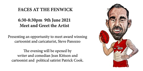 Meet Award Winning Cartoonist and Caricaturist, Steve Panozzo tickets