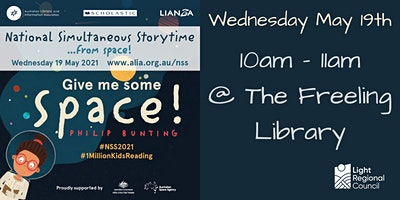 National Simultaneous Storytime 2021@ Freeling Library