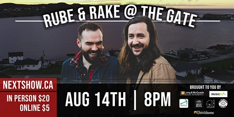 Rube and Rake At The Gate tickets
