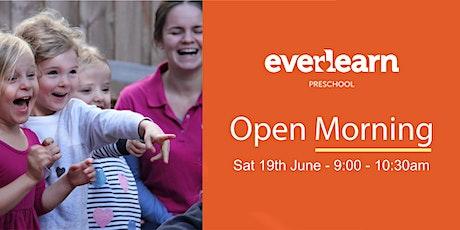 2021 Preschool Open Morning tickets
