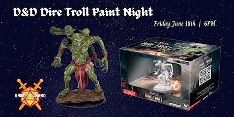 WizKids Paint Night!!  Dungeons & Dragons Dire Troll tickets