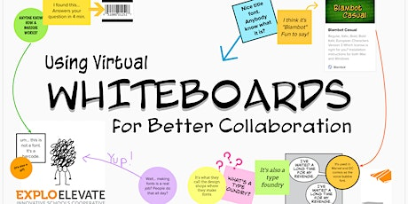 Virtual Whiteboards for Better Collaboration | June 23-24 | 1:30-4:00p EST tickets