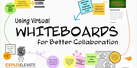 Virtual Whiteboards for Better Collaboration | Aug 11-12 | 10:00a-12:30pEST tickets