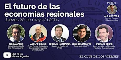 Conferencia: El futuro de las economías regionales boletos