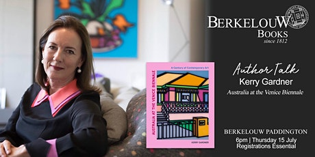 Author Talk: Kerry Gardner on Australia at the Venice Biennale tickets