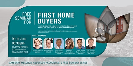 Free Seminar for First Home Buyers tickets