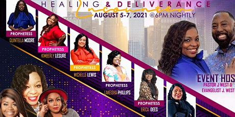 Prophetic Healing & Deliverance Encounter tickets