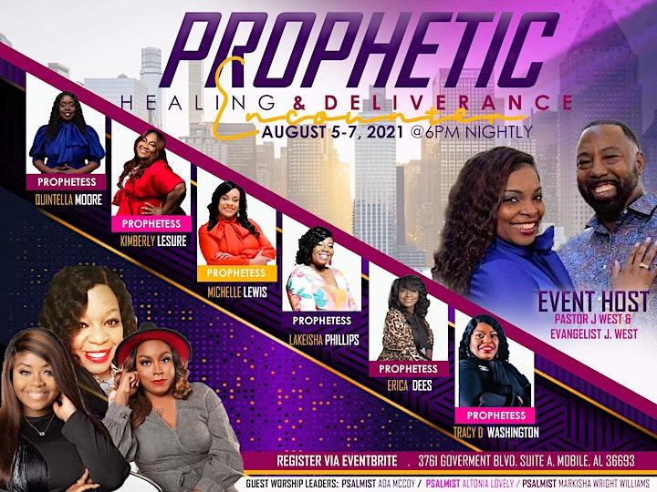 Prophetic Healing & Deliverance Encounter image