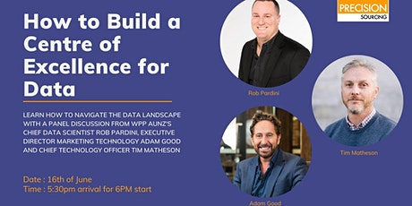 How To Build A Centre Of Excellence For Data | Sydney tickets