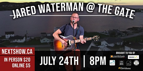 Jared Waterman At The Gate tickets