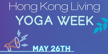 Hong Kong Living Yoga Week tickets