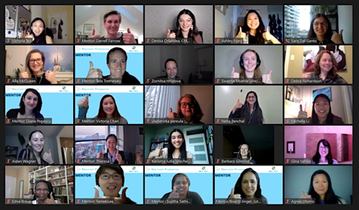 Virtual Speed Mentoring: Building Resilience image