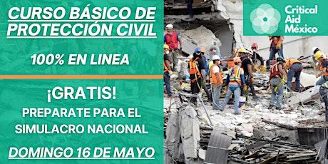 Curso Básico de Protección Civil - GRATIS entradas