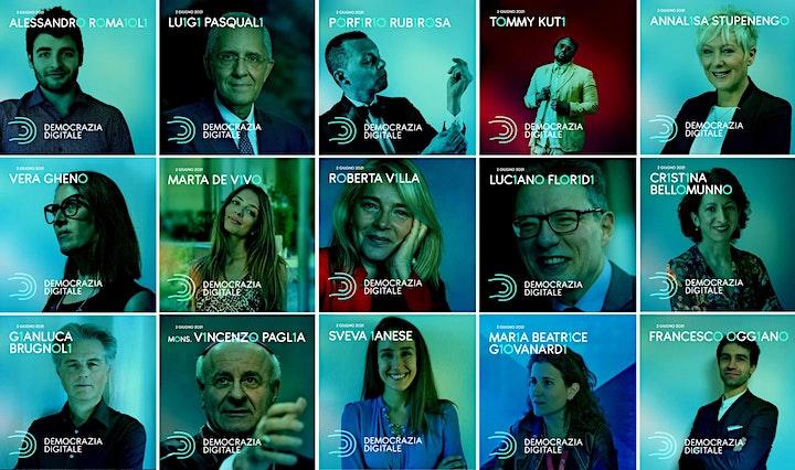 Immagine TEDxPescaraSalon DEMOCRAZIA DIGITALE