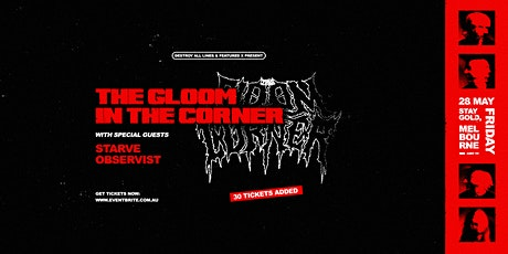 The Gloom In The Corner - Melbourne tickets