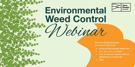 Environmental Weed Control Webinar tickets