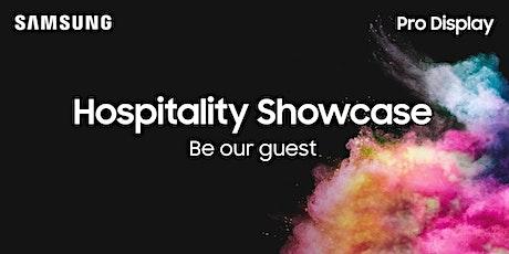Samsung Pro Display Hospitality Showcase tickets