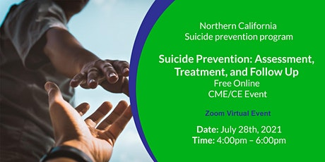 Suicide Prevention: Assessment, Treatment, and Follow Up - Free Virtual CME tickets