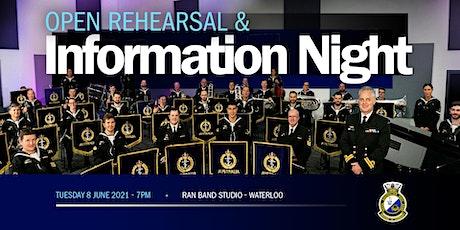 RAN Band Sydney Open Rehearsal - 8 June 2021 tickets