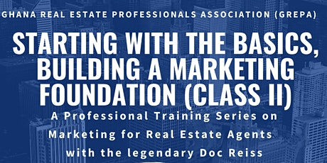 Starting With The Basics, Building A Marketing Foundation tickets
