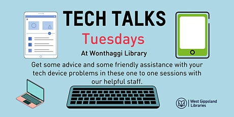 Tech Talks at Wonthaggi Library tickets