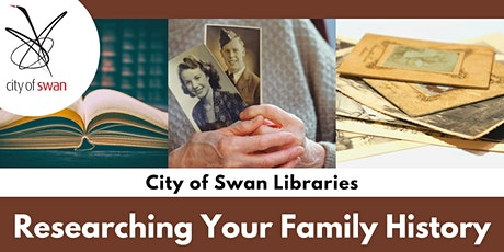 Researching Your Family History (Ellenbrook) tickets