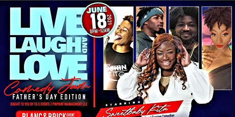Live laugh and love Comedy Show/Father's Day Edition tickets